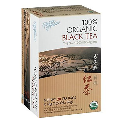 PRINCE OF PEACE Organic Black Tea 20 Bag, 0.02 Pound