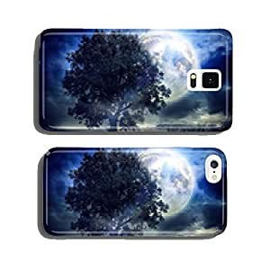 Full moon over corn field cell phone cover case iPhone5