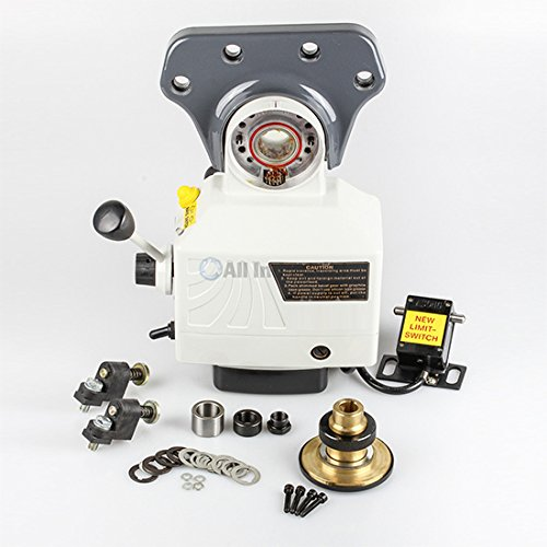 0 Lbs Torque for Bridgeport Type Milling Machines 4-180 RPM ()