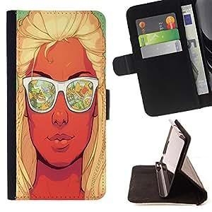 Jordan Colourful Shop - FOR Apple Iphone 6 PLUS 5.5 - have strong heartbeat - Leather Case Absorci¨®n cubierta de la caja de alto impacto