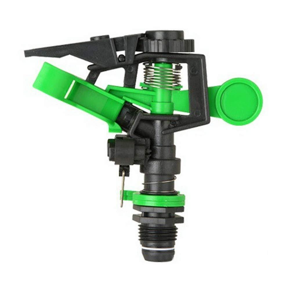 Loweryeah Garden Sprinkler, 360 Degree Adjustable Irrigation Sprinkler Garden Greening Rotatable Sprayer