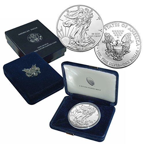2017 American Silver Eagle $1 Brilliant Uncirculated US Mint Box