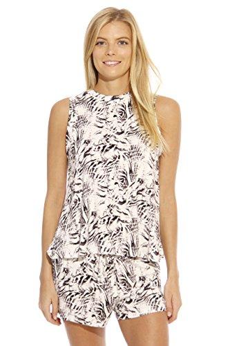 Open Back Short (CS601092-2-S Christian Siriano New York Women Sleepwear / Short Sets / Woman Pajamas)