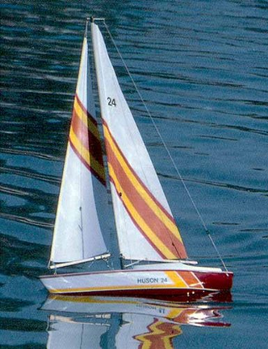 UPC 660141011176, Huson Wooden SailBoat Kit by Dumas