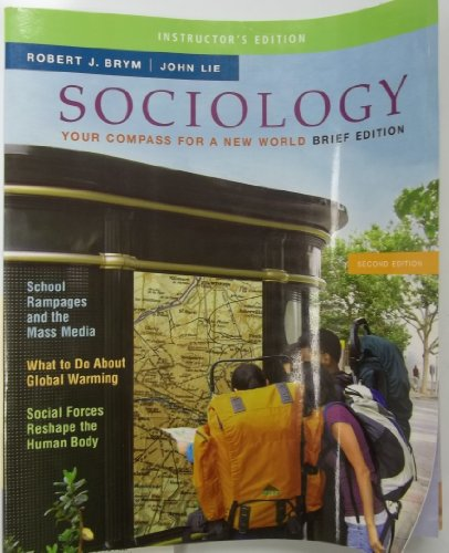 Sociology Your Compass For a New World, 2nd Edition