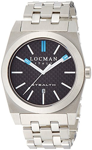 LOCMAN watch stealth classic Quartz Men's 0201 020100CBFSK1BR0 Men's [regular imported goods]