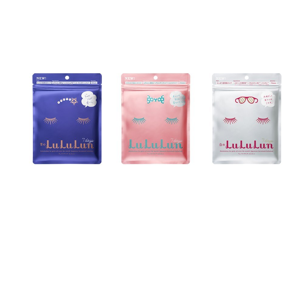 [Value Set] LuLuLun Face Masks 3 types x 7 sheets