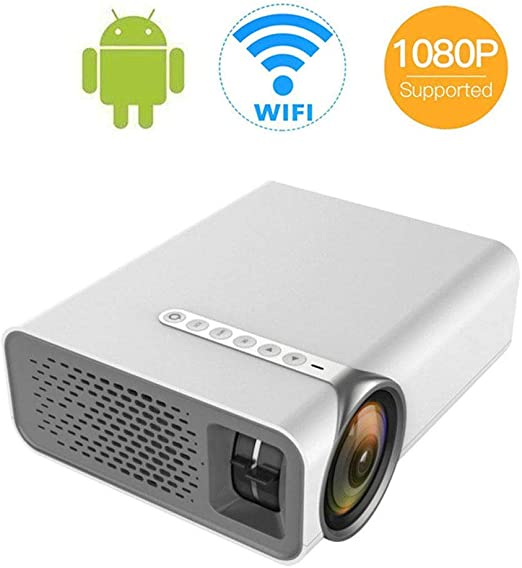 DBSCD Proyector Mini portátil HDMI 1080P con Soporte Pantalla de ...