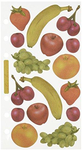 EK Success Vellum Stickers - Fruity