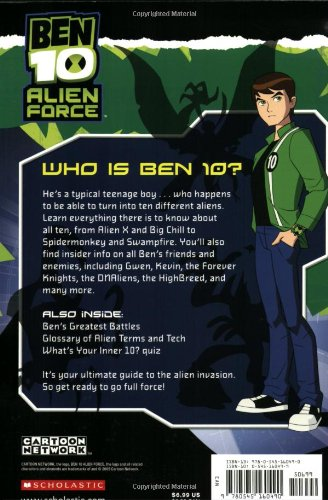 Ben 10 Alien Force: The Complete Guide by Scholastic (Image #1)