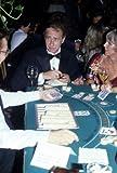 Darren Mcgavin Candid 35Mm Original Slide Transparency Blackjack Table Rare