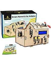 KEYESTUDIO Smart Home Starter Kit for Arduino, for Uno Electronics Programming Coding DIY Set STEM Educational Toys for Kids Adults Beginner