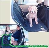 HDP Car Rear Full Seat Heavy Duty Cover Hammock with Pockets