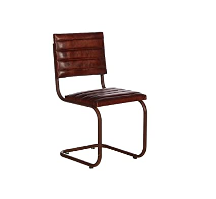 Buy Luxury Design Leather Iron Chair L Bar Chair L Living Room Chair