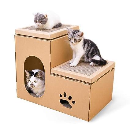 Amazon Com Free Diy Cat House Cat Scratch Board Climbing