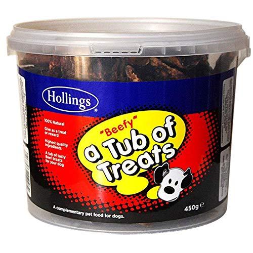 Hollings Limited Beefy - A Tub Of Treats Dog Treats (450g)