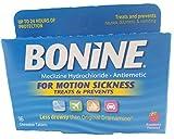 Bonine Motion Sickness Tablets, 16 tablets Boxe (Pack of 6)