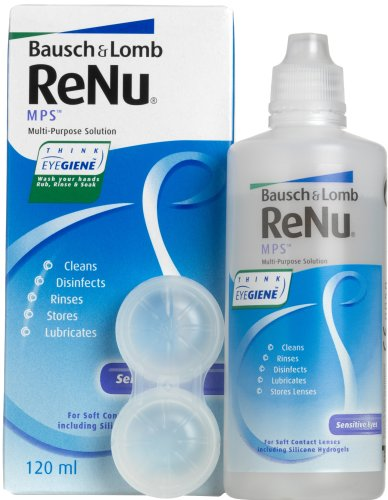 Bausch & Lomb Renu Mps polyvalent Solution Lens - 120 ml