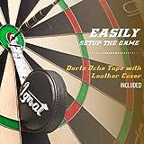 Professional Dart Board Set - Bristle/Sisal
