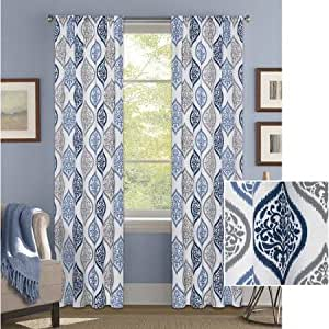 Better Homes And Gardens Damask Ogee Curtain