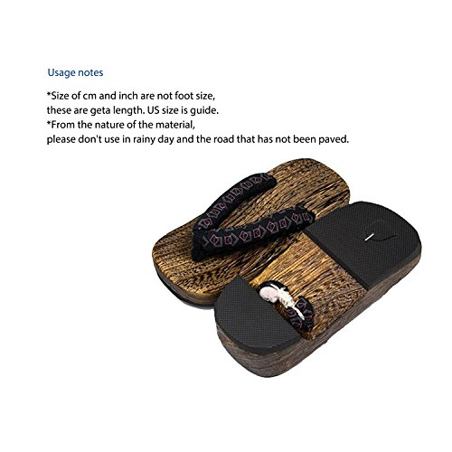 Pictures of KYOETSU Boys Japanese Wooden Geta Sandals Brown ( 2010102 2