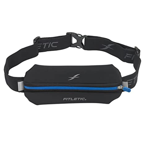 781c95a090 Amazon.com   Fitletic Sports Fanny Pack - Neo I Black   Blue ...