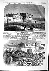 1854 Barcos Turcos de Varna de los Soldados de Boleia Gallipoli de la Guerra [Cocina y Hogar]