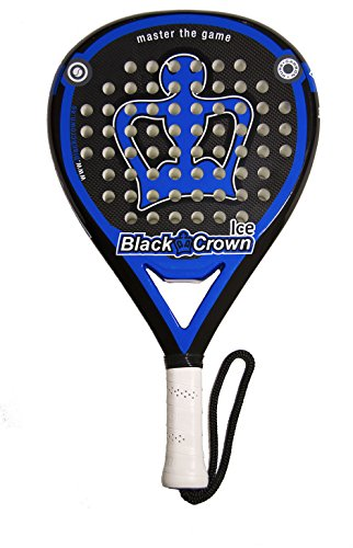 pala de padel black crown Ice: Amazon.es: Deportes y aire libre