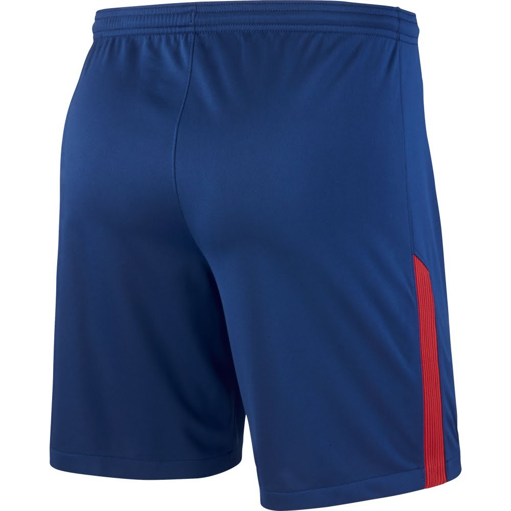 2017-2018 Atletico Madrid Home Nike Football Shorts (Blue): Amazon ...