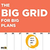 2020 Big Grids for Big Plans Wall Calendar by Bright Day, 16 Month 12 x 12 Inch, Large Jumbo Office, Mega