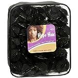 Hype Hair Satin Foam Rollers Black - 3PC