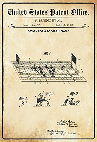 Compra ComCard US Patentes - Design For A Football Game - Bosquejo ...