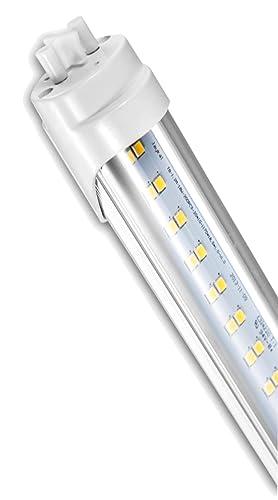 Jaykal 4FT LED Tube, 4000K, Clear Lens, UL Type B, Pack of ... on