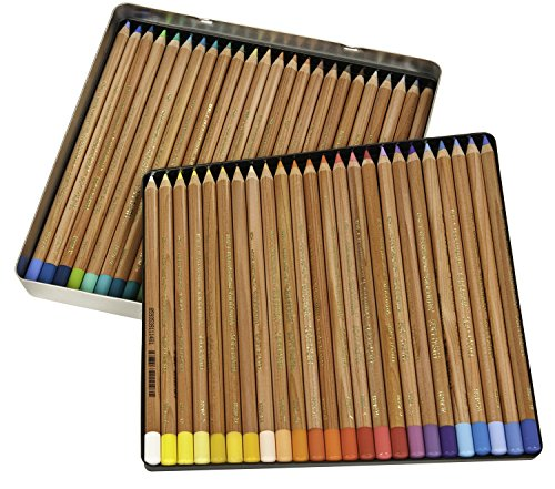 - Koh-I-Noor Gioconda Soft Pastel Pencil Set, 48/Each Packed in Tin, Assorted Colored Pencils (FA8828.48)