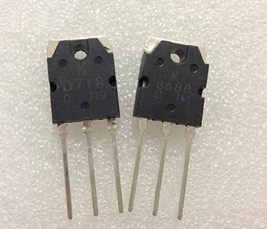 2Pair 2SB688 & 2SD718 SANKEN Transistor D718 & B688 NEW
