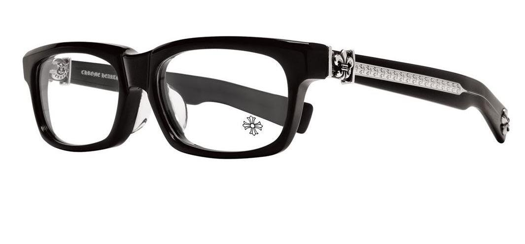 Chrome Hearts - Splat-A - Eyeglasses (Black, Clear)