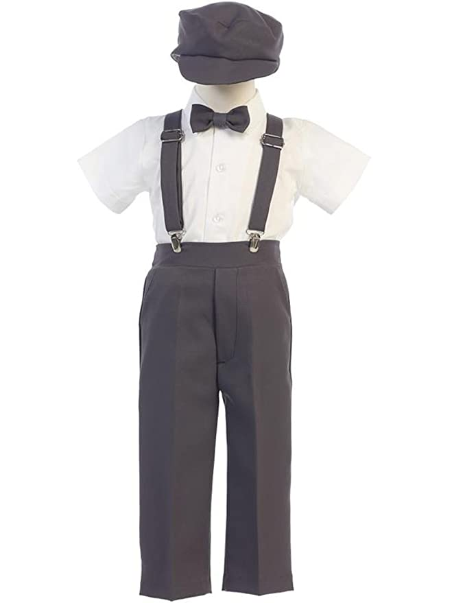 1930s Childrens Fashion: Girls, Boys, Toddler, Baby Costumes DapperLads Lito Baby and Little Boys Ring Bearer Pants Set $40.90 AT vintagedancer.com