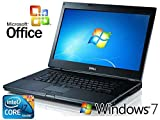 "Dell Latitude E6510 15.6"" Laptop Notebook Windows 7 Pro Core i7-620M 2.66GHz/ 8GB RAM /SOLID STATE 120GB SSD HD DVD-RW +MS OFFICE"