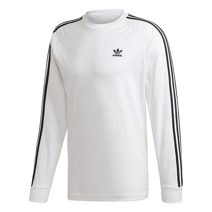 adidas Originals Men's 3 Stripes Long Sleeve Tee: Amazon.es