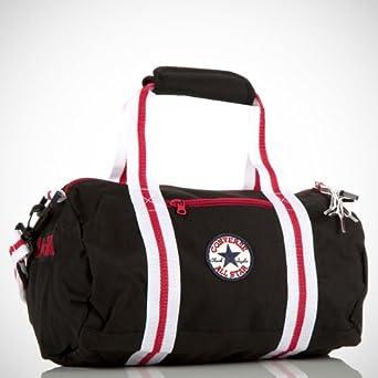 eae153d553 Converse Chuck taylor youth messenger bag Jet black One size  Amazon.co.uk   Clothing