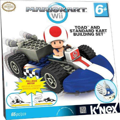 K'NEX Nintendo Mario Kart Wii Toad Kart Building Set (8 Age Wii Boys Games)
