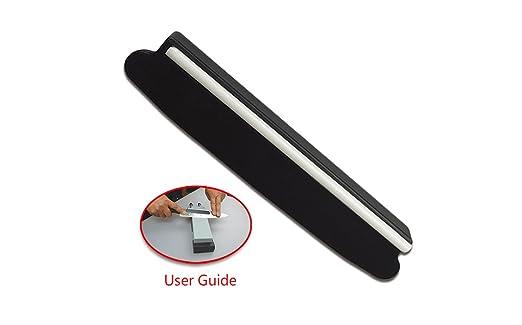 SharpMax Afilador de cuchillos Guía de ángulo para piedra de afilar Afilador de piedra Cuchillos de cocina Accesorios