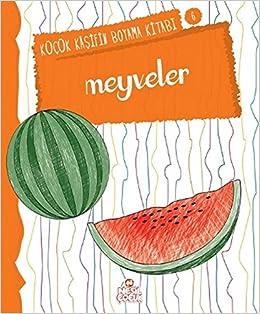 Meyveler Kucuk Kasifin Boyama Kitabi Serisi 6 Nilufer Taktak