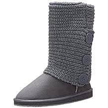 Amby Women's Rib Knit Sweater Boot