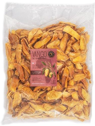100%Mango getrocknet, Lippens *honigsüß*, 1kg: OHNE Zucker**OHNE Schwefel >FAIR TRADE< 100%Natur & unbehandelt *säurearm*lecker* v. Kleinbauern aus Afrika, Burkina Faso