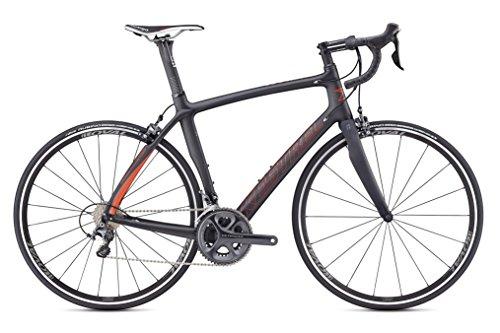 Kestrel RT-1000 Shimano Ultegra Endurance Road Bike, Medium/53 cm, Satin Carbon/red Orange Advanced Sports International - Bike