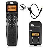 PIXEL TW-283 DC2 Wireless Remote Shutter Release Cable Control Controller for Nikon Digital SLR Cameras D3100 D3200 D3300 D5000 D5100 D5200 D5300 D5500 D90 D7000 D7100 D7200 D600 D610 D750