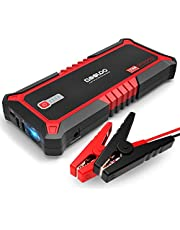 GOOLOO Upgraded 2000A Peak SuperSafe Car Jump Starter with USB Quick Charge 3.0 (Up to 10L Gas or 7L Diesel Engine) 12V Auto Battery Booster Power Pack Type-C Portable Phone Charger