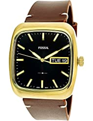 Fossil  Mens Rutherford FS5332 Gold/Brown One Size