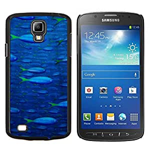 "Be-Star Único Patrón Plástico Duro Fundas Cover Cubre Hard Case Cover Para Samsung i9295 Galaxy S4 Active / i537 (NOT S4) ( Patrón Sea Fish"" )"